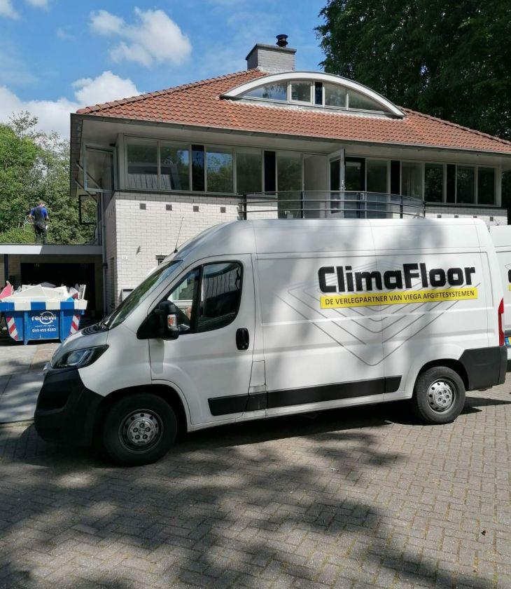 Verduurzaming van woning in Baarn - Climafloor B.V.