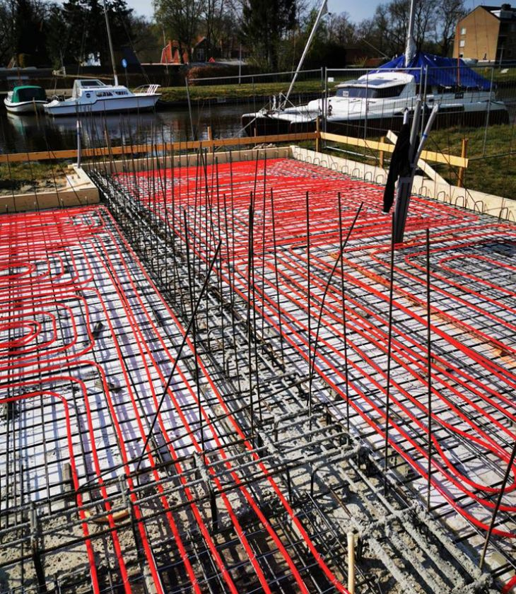 Bijzonder project in Sappemeer - Climafloor B.V.